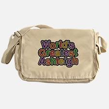 Worlds Greatest Ashleigh Messenger Bag