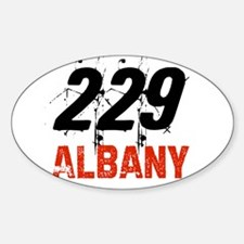 229 Oval Decal