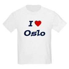 I HEART OSLO Kids T-Shirt