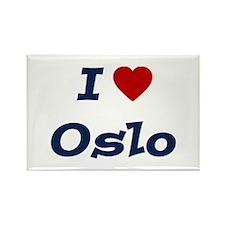 I HEART OSLO Rectangle Magnet