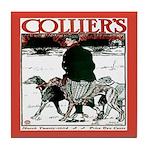 Collier's Hunting Vintage Dog Tile Coaster