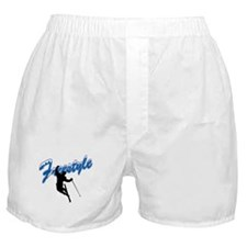 Freestyle Skiing Boxer Shorts