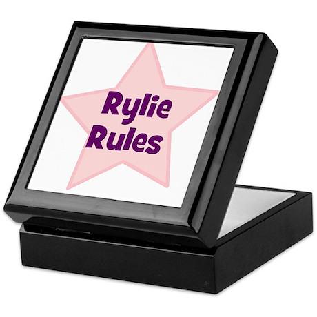 Rylie Rules Keepsake Box