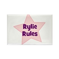 Rylie Rules Rectangle Magnet