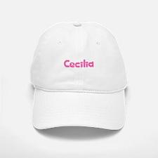 """""""Cecilia"""" Baseball Baseball Cap"""