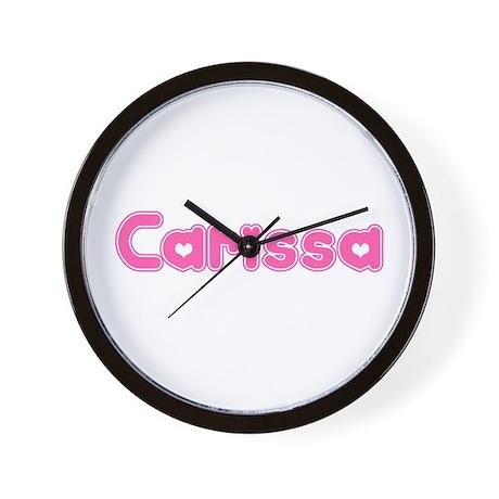 """Carissa"" Wall Clock"
