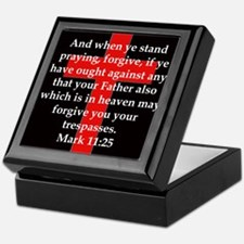Mark 11-25 Keepsake Box
