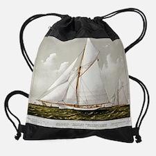 Unique Ship Drawstring Bag