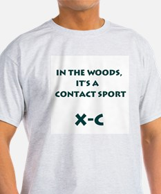 In the Woods Ash Grey T-Shirt