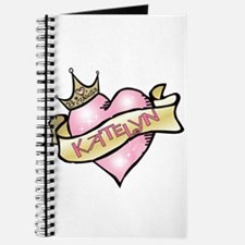 Sweetheart Katelyn Custom Princess Journal