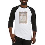 Vitruvian Man Baseball Jersey