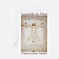 Vitruvian Man Greeting Cards (Pk of 10)
