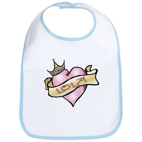 Sweetheart Lola Custom Princess Bib