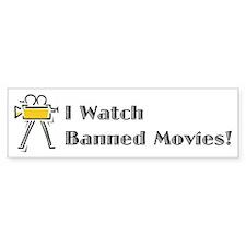 Banned Movies! Bumper Bumper Sticker