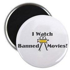 "Banned Movies! 2.25"" Magnet (10 pack)"