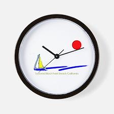 Sonoma Black Point Wall Clock