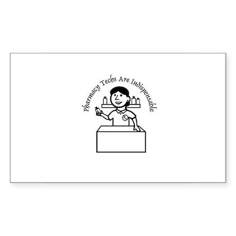 PT indispensable Rectangle Sticker