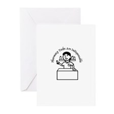PT indispensable Greeting Cards (Pk of 10)