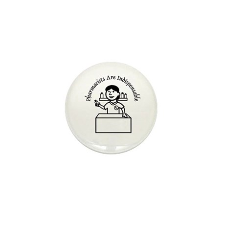 Pharm indispensable Mini Button (10 pack)