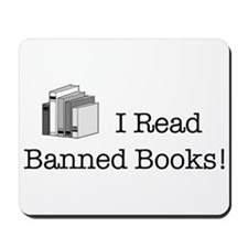 Banned Books! Mousepad