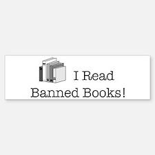 Banned Books! Bumper Bumper Bumper Sticker