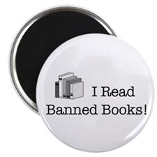 """Banned Books! 2.25"""" Magnet (10 pack)"""