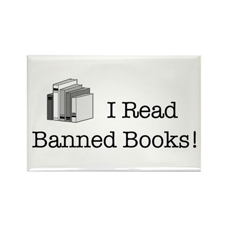 Banned Books! Rectangle Magnet