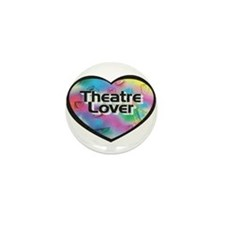 Theatre Lover Mini Button