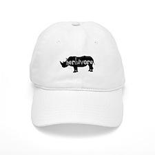 Rhino - Herbivore Baseball Baseball Cap