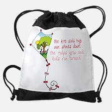 Spring Kite Drawstring Bag