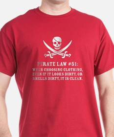 Pirate Law 51 T-Shirt