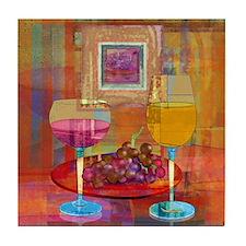 Wine Art Tile