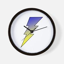 The Lightning Bolt 3 Shop Wall Clock