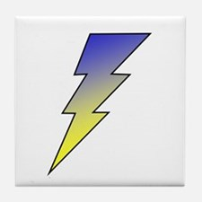 The Lightning Bolt 3 Shop Tile Coaster