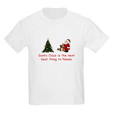 Santa Claus vs Nonno Kids T-Shirt