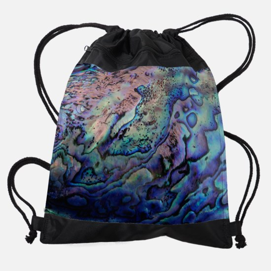 Abalone Drawstring Bag