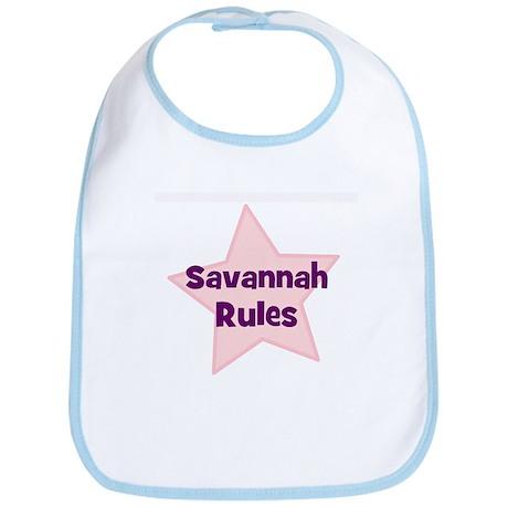 Savannah Rules Bib