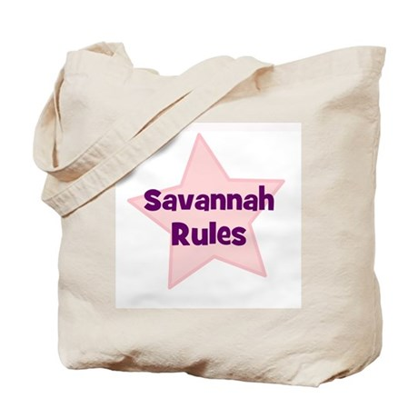 Savannah Rules Tote Bag