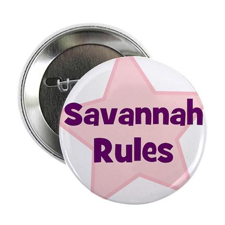 """Savannah Rules 2.25"""" Button (10 pack)"""