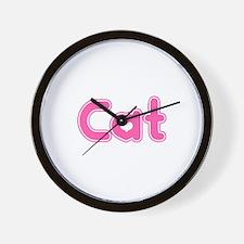 """""""Cat"""" Wall Clock"""