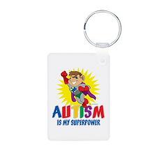 Autism Is My Superpower Keychains
