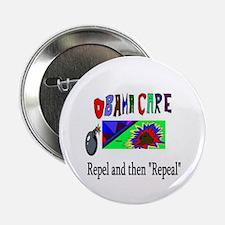 """Obama Care Repeal 2013 2.25"""" Button"""