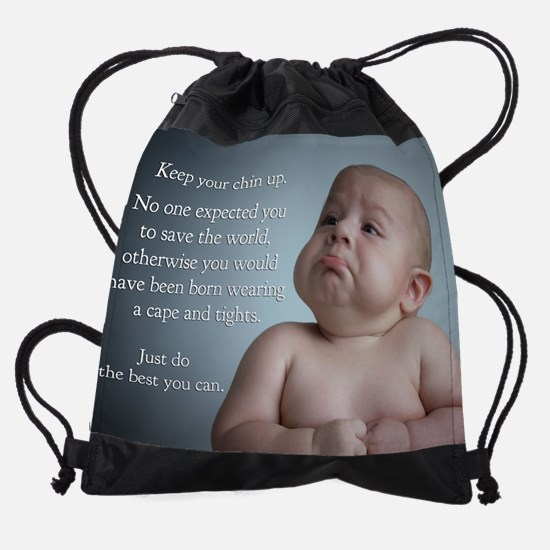 just do the best you can 8 x 10.jpg Drawstring Bag