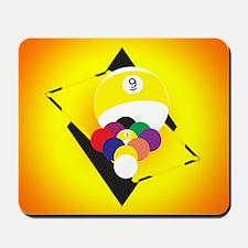 9 Ball 1 Mousepad