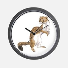 Weasel Wall Clock