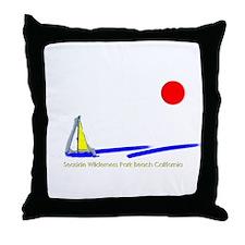 Seaside Wilderness Park Throw Pillow