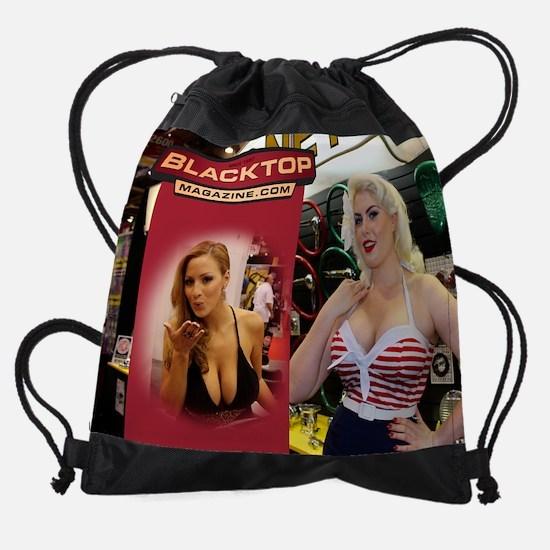 011_November.png Drawstring Bag