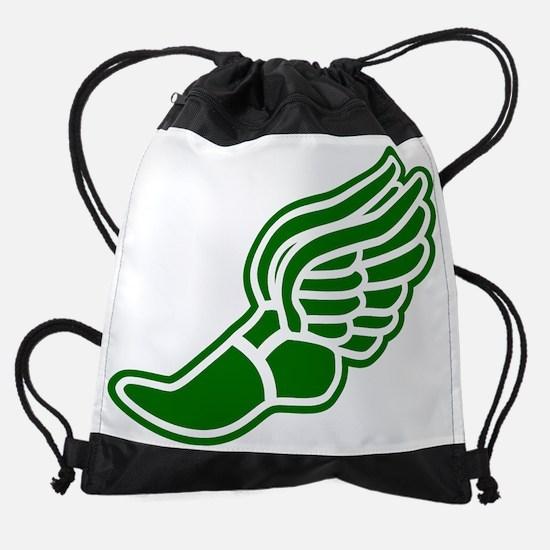 green-3000.png Drawstring Bag