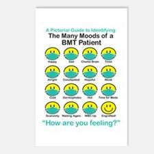 Many Moods Postcards (Package of 8)