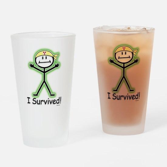 Radiation Survivor Drinking Glass